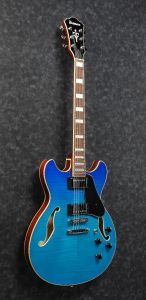 Ibanez AS73FM AZG AS Artcore Azure Blue Gradation Semi-Hollow Body Electric Guitar AS73FMAZG