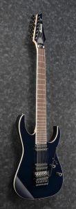"""Ibanez RG2027XL DTB RG Prestige 7 String 27"""" scale Dark Tide Blue Electric Guitar w/Case RG2027XLDTB"""