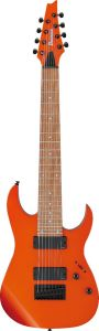 Ibanez RG80E ROM RG Standard 8 String Roadster Orange Metallic Electric Guitar RG80EROM