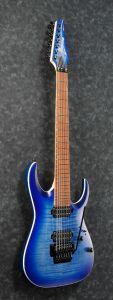 Ibanez RGA7420FM BLF RGA Standard 7 String Blue Lagoon Burst Flat Electric Guitar RGA7420FMBLF
