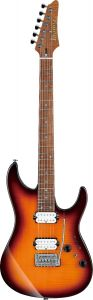 Ibanez Limited AZ2402FF RBB AZ Prestige Regal Brown Burst Electric Guitar w/Case AZ2402FFRBB