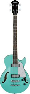 Ibanez AGB260 Artcore 4 String Electric Semi-Hollow Body Sea Foam Green Bass Guitar AGB260SFG