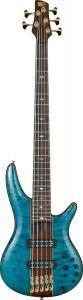 Ibanez SR Premium SR2405 5 String Caribbean Green Low Gloss Bass Guitar SR2405WCGL