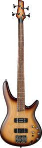 Ibanez SR Standard SR370E 4 String Natural Browned Burst Bass Guitar SR370ENNB