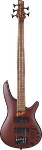 Ibanez SR Standard SR505E 5 String Brown Mahogany Bass Guitar SR505EBM