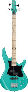 "Ibanez SR Mezzo SRMD200K 4 String 32"" Medium Scale Aqua Green Bass Guitar SRMD200KAQG"