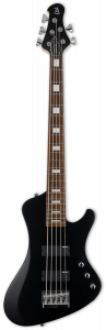 ESP LTD STREAM-205 Black Satin 5 String Bass Guitar LSTREAM205BLKS
