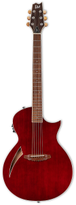 ESP LTD TL-6 Thinline Wine Red Electric Guitar LTL6WR