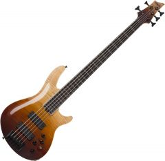 Schecter SLS ELITE-5 Electric Bass in Antique Fade Burst SCHECTER1393