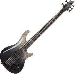 Schecter SLS ELITE-5 Electric Bass in Black Fade Burst SCHECTER1394