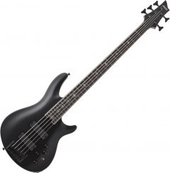 Schecter SLS ELITE-5 Evil Twin Electric Bass in Satin Black SCHECTER1395