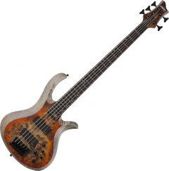 Schecter RIOT-5 Electric Bass in Satin Inferno Burst SCHECTER1453
