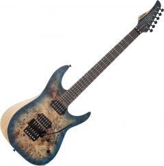 Schecter Reaper-6 FR Electric Guitar in Satin Sky Burst SCHECTER1504