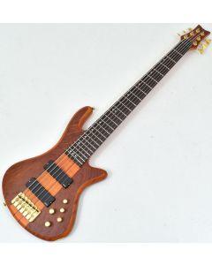 Schecter Stiletto Studio-6 Electric Bass Honey Satin sku number SCHECTER2730