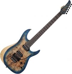 Schecter Reaper-6 FR S Electric Guitar in Satin Sky Burst SCHECTER1507