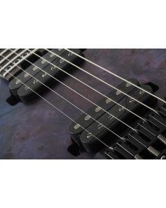 Schecter MK-6 MK-III Keith Merrow Left Handed Electric Guitar in Blue Crimson SCHECTER828