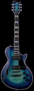 ESP LTD Xtone PS-1000 Violet Shadow Semi Hollow Electric Guitar XPS1000FMVSH