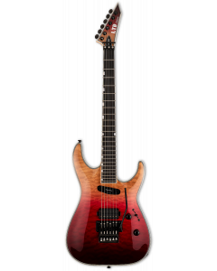 ESP LTD MH-1000HS Black Cherry Fade Electric Guitar sku number LMH1000HSQMBCHFD