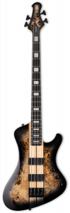 ESP LTD STREAM-1004 Black Natural Burst Bass Guitar LSTREAM1004BLKNB