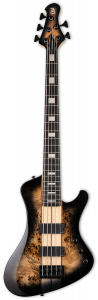 ESP LTD STREAM-1005 Black Natural Burst 5 String Bass Guitar LSTREAM1005BLKNB