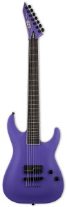 ESP LTD SC-607 Baritone 1 Hum Stephen Carpenter Deftones Purple Electric Guitar w/Case LSC607B1HPS
