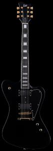 ESP LTD SPARROWHAWK Bill Kelliher Mastodon Black Electric Guitar w/Case LSPARROWHAWKBLK