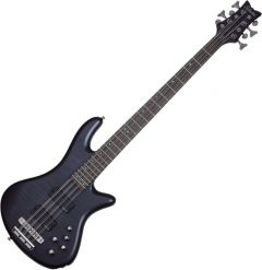 Schecter Stiletto Studio-8 Electric Bass See-Thru Black Satin SCHECTER2742