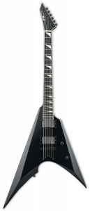 ESP E-II Arrow NT Black Electric Guitar w/Case EIIARROWNTBLK