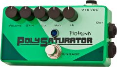 Pigtronix PolySaturator Multi-stage Distortion with 3-Band Active EQ Guitar Pedal PSO