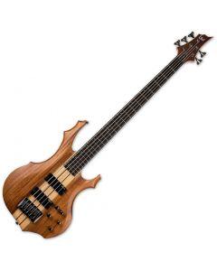 ESP LTD F-5E Electric Bass Natural Satin sku number LF5EMNS