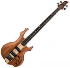 ESP LTD F-4E Electric Bass Natural Satin LF4EMNS