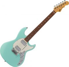 G&L Fullerton Deluxe Skyhawk HH Electric Guitar Surf Green FD-SKYHH-SRF-CR