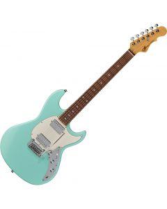 G&L Fullerton Deluxe Skyhawk HH Electric Guitar Surf Green sku number FD-SKYHH-SRF-CR