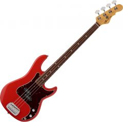G&L Fullerton Deluxe LB-100 Electric Bass Fullerton Red FD-LB1-FLR-CR