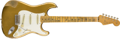 Fender Custom Shop 1958 Heavy Relic Stratocaster  Aged HLE Gold Electric Guitar 9235000512