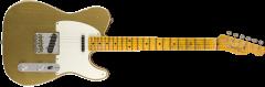 Fender Custom Shop 2018 Limited Double Esquire Special - Journeyman Relic  Aztec Gold Electric Guitar 9235000553