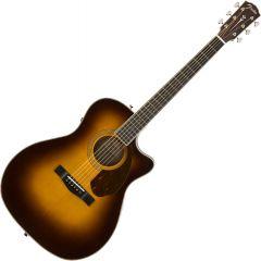 Fender PM-4CE Auditorium Limited Acoustic Guitar Vintage Sunburst 970377203