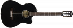Fender CN-140SCE  Black Acoustic Guitar 970264306