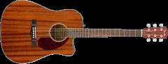 Fender CD-140SCE All-Mahogany  Natural Acoustic Guitar 970213322