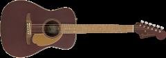 Fender Malibu Player  Burgundy Satin Acoustic Guitar 970722088