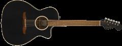 Fender Newporter Special  Matte Black Acoustic Guitar 970843106
