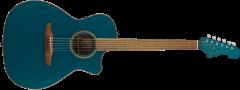 Fender Newporter Classic  Cosmic Turquoise Acoustic Guitar 970943299