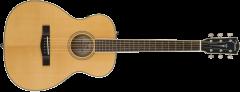 Fender PM-TE Travel Standard, Natural  Natural Acoustic Guitar 970372321