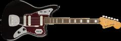 Squier Classic Vibe '70s Jaguar  Black Electric Guitar 374090506