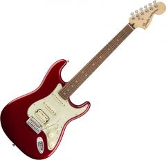 Fender Deluxe Strat HSS Electric Guitar Candy Apple Red 147203309