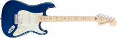 Fender Deluxe Strat  Sapphire Blue Transparent Electric Guitar 147102327