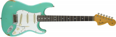 Fender Custom Shop 1967 Heavy Relic Stratocaster  Sea Foam Green Electric Guitar 1550670849