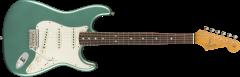 Fender Custom Shop 1965 Stratocaster Journeyman Relic - Rosewood  Aged Teal Green Metallic Electric Guitar 9235000826