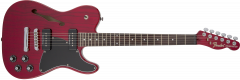 Fender Jim Adkins JA-90 Telecaster Thinline  Crimson Red Transparent Electric Guitar 262354538