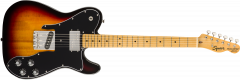 Squier Classic Vibe '70s Telecaster Custom  3-Color Sunburst Electric Guitar 374050500